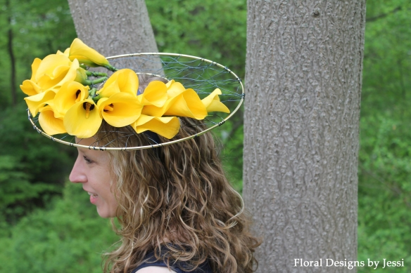 Pennsylvania Wedding Florist - Willowdale Steeplechase - Floral Fascinator (7)
